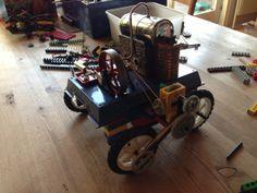 How To Build A Steam Powered LEGO Car