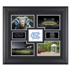 North Carolina Tar Heels 4 Photo Framed Collage