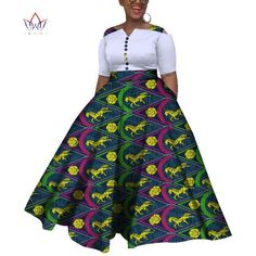 Image of 2019 African Dresses For Women Dashiki African Dresses For Women Colorful Daily Wedding Size Ankle-Length Dress African Fashion Ankara, African Fashion Designers, Latest African Fashion Dresses, African Dresses For Women, African Print Dresses, African Print Fashion, African Attire, African Wear, African Clothes