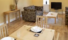 Lounge - Interior images of our luxury self-catering apartment in Harrogate