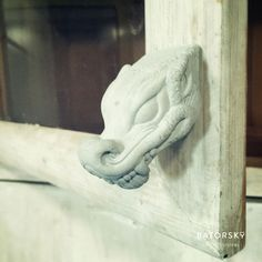 1Korea concrete dragon knob/hanger #batorsky #concrete #dragon #knob