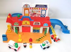1986 Fisher Price Play Family Main Street Little by RetroClassics, $69.99