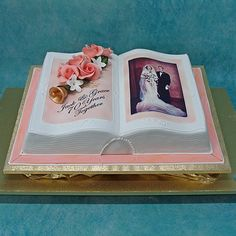 open book cakes | Pin Open Book Cake Cake on Pinterest More