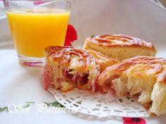 Petits pains roulés au jambom et au fromage - Pãezinhos enrolados de presunto e queijo • Hellocoton.fr
