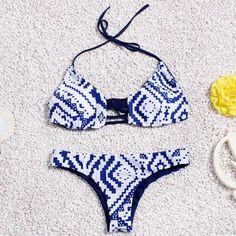 Newest Push Up bikinis Women Swimwear Hot Sexy Brazilian Swimsuit Monokini Biquini Ladies Tassel Bikini