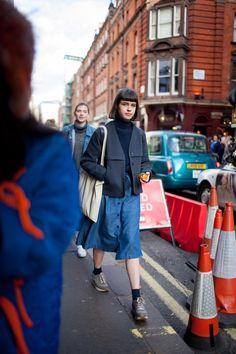 London Fashion Week Street Style Fall 2016 | WWD