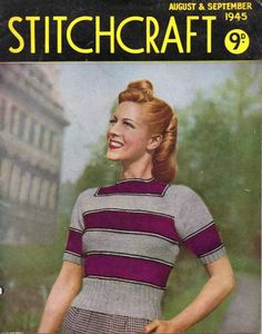 Link to a full copy of Stitchcraft August & September 1945