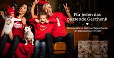 Für jeden das passende Geschenk zum selbst gestalten und bedrucken mit Design, Text und eigenem Foto, jetzt gestalten unter www.t-shirt-mit-druck.de/weihnachten-geschenkideen-zum-selbst-gestalten.htm