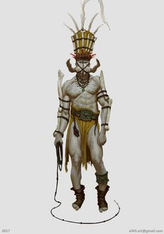 ArtStation - Anton Krestyaninov's submission on Ancient Civilizations: Lost & Found - Character Design