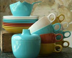 florence, eames era melamine tea set kathi roussel photo