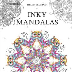 From 218 Inky Mandalas Themed For Relaxation Volume 3 Colouring Books