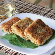 Vegetarian Quinoa Spinach Patties by WineladyCooks