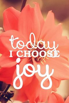 Today I choose Joy #lawofattraction #affirmation #positive http://www.lawofattractionhelp4u.com/