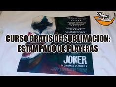 Curso de Sublimacion Gratis: Estampado de Playeras - YouTube