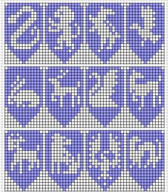 house crest and patronus graphs for knitting or needlework Knitting Charts, Loom Knitting, Fair Isle Knitting, Knitting Patterns, Harry Potter Perler Beads, Harry Potter Crochet, Bead Loom Patterns, Beading Patterns, Cross Stitch Designs