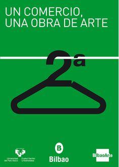 Cartel de la segunda edición de ARTEshop Bilbao.