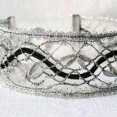 Lace Bracelet, Bracelets, Boho Fashion, Fashion Jewelry, Chabby Chic, Thread Art, Fancy, Vintage Crafts, Bobbin Lace