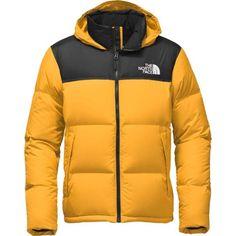 The North Face Men's Novelty Nuptse Down Jacket, Size: Medium, Tnf Yellow/Tnf Black