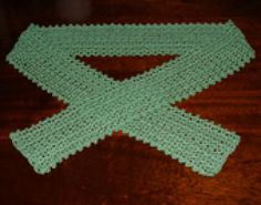 Make Your Own Elegant Scarf with This Free Crochet Pattern: Thread Crochet Cotton Scarf