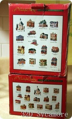 It 39 S A Wonderful Life Illuminated Village 320 Sycamore Series I By Enesco Its A Wonderful