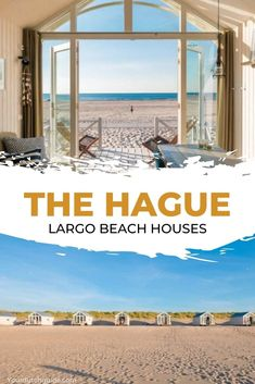 Largo Beach Houses, Kijkduin (The Hague). Would you like to stay at a beautiful beach house, a stone's throw away from The Hague? Check out amazing Largo Beach Houses. Beautiful Beach Houses, Stones Throw, The Hague, Netherlands, Amsterdam, Dutch, Pergola, Street Art, Outdoor Structures