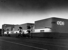 LOS ANGELES / HOLLYWOOD:  Old NBC studios, Hollywood and Vine, 1940s.