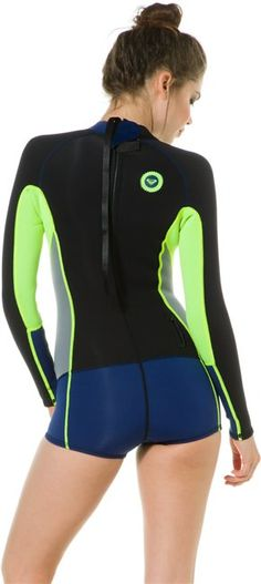 @ROXY High Seas Long Sleeve Spring Suit http://www.swell.com/Gear-Womens-Wetsuits/ROXY-HIGH-SEAS-LS-SPRING-SUIT?cs=LC @SWELL