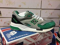 Men's New Balance 1600 Running Shoes CM1600cg Suede 1:1 Green Gray|only US$75.00 - follow me to pick up couopons.