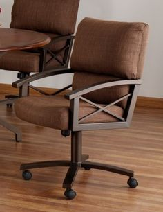 10 Best Dining Chairs on Rollers images | Dining chairs ...