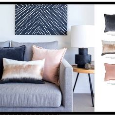 Designer cushions ♡ Pin for inspo!