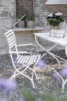 Garden chair Jeanne d'Arc Living