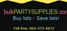 Bulk Party Supplies - Wholesale Party Supplies, Party Decorations and Favors