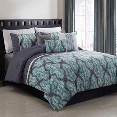 Lorna 5-Piece Comforter Set - www.BedBathandBeyond.com