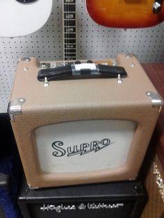 SUPRO 50A 5 watt all tube guitar amp