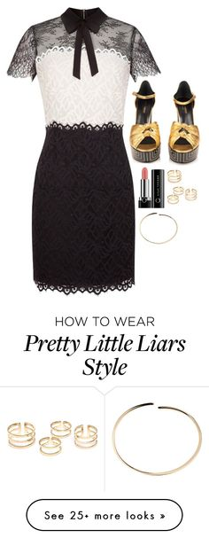 """""""Aria Montgomery Inspired Outfit"""" by daniellakresovic on Polyvore featuring Sandro, Marc and Maison Margiela Aria Style, Lucy Hale Style, My Style, Aria Montgomery Outfit, Lucy Hale Outfits, Pretty Little Liars Fashion, Pretty Little Lairs, Beach Attire, Celebrity Outfits"""