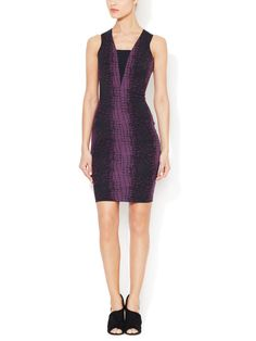 ROBERT RODRIGUEZ - Stretch Sheath Dress