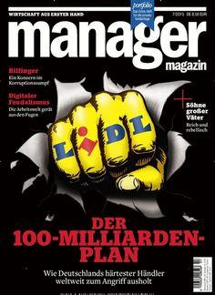 LIDL - Der 100-Milliarden-Plan. Gefunden in: manager magazin - epaper als Download kaufen, Nr. 7/2015