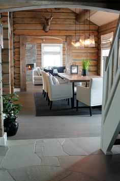 Why You Should Consider Buying a Log Cabin - Rustic Design Bar Design, Design Studio, Rustic Design, House Design, Log Home Interiors, Cottage Interiors, Rustic Interiors, Modern Log Cabins, Cabin In The Woods