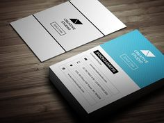 """Corporate Business Card Templates Business card - perfect for any idustry.Features. 2.0x3.5 (2.25"""" x 3.75"""" with bleed)300 DPI CMY by bouncy"""