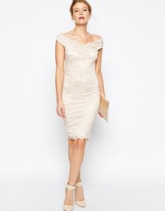 Classsssssy sassy  Jessica Wright Olivia Off Shoulder Lace Dress RRP $113.70 $66.33