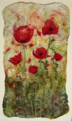 felt art work | Di Pattinson - Felt Making | Opportunities to Learn Creative Skills at ...
