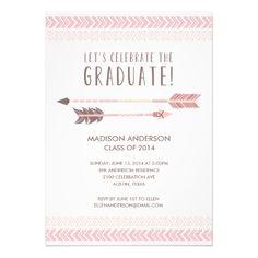 Aztec   Graduation Party Invitation