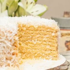 There are few things that scream Easter to me more than a sweet, fluffy coconut cake. I shared my favorite recipe for a traditional version years...
