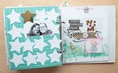 Dezembertagebuch Tag 16 & 17 / December Daily Day 16 & 17 - Scrap Sweet Scrap