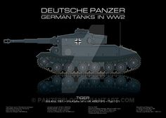 Sd. Kfz. 181 - German tank - Panzer by panzerblog.deviantart.com on @DeviantArt