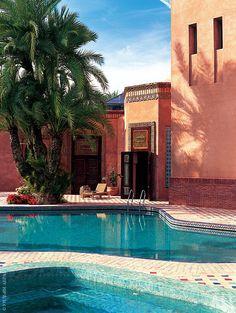 House in Marrakech project Alberto Pinto. AD Russia