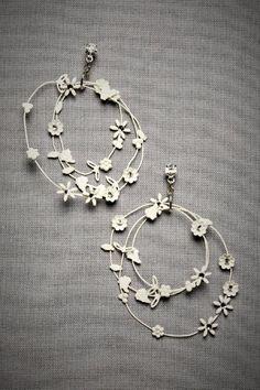 Debra Moreland. Daisy Chain Earrings