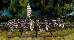 Analogue Hobbies: From ChristopherS: 28mm AWI American Infantry 'The Maryland 400' (80 points)