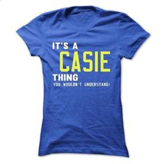 its a CASIE Thing You Wouldnt Understand ! - T Shirt, H - #jean shirt #tshirt decorating. ORDER NOW => https://www.sunfrog.com/Names/its-a-CASIE-Thing-You-Wouldnt-Understand--T-Shirt-Hoodie-Hoodies-YearName-Birthday-38942977-Ladies.html?68278