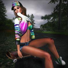 "Récidive.... Complete outfit : Hair, shoes, short & top LamuFashion ""Urban Girl"" http://maps.secondlife.com/secondlife/Serena%20Fortuna/200/178/3001 Lingerie : Countdown Julie https://marketplace.secondlife.com/stores/110235 Pose FMS poses http://maps.secondlife.com/secondlife/Le%20Nostalgia/128/158/26 De..."